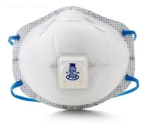 3M™ Particulate Respirator 8576, P95, with Nuisance Level Acid Gas Relief的詳細資料