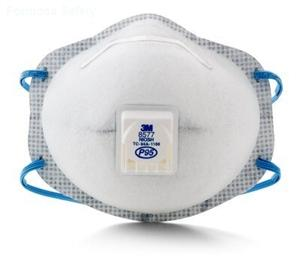 3M™ Particulate Respirator 8577, P95, with Nuisance Level Organic Vapor Relief的詳細資料