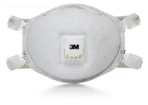 3M™ Particulate Respirator 8514, N95, with Nuisance Level Organic Vapor Relief的詳細資料