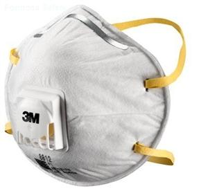 3M™ Cupped Particulate Respirator 8812, P1, valved的詳細資料