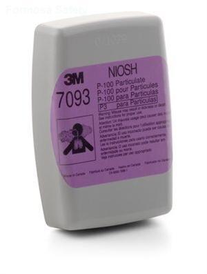 3M™ Particulate Filter 7093, P100的詳細資料