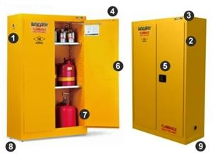 details of The Safety Star® Flammable Safety Storage Cabinet