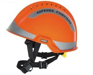 details of MSA F2 X-TREM helmet,ORANGE