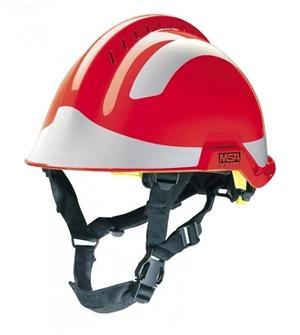 details of MSA F2 X-TREM helmet,RED